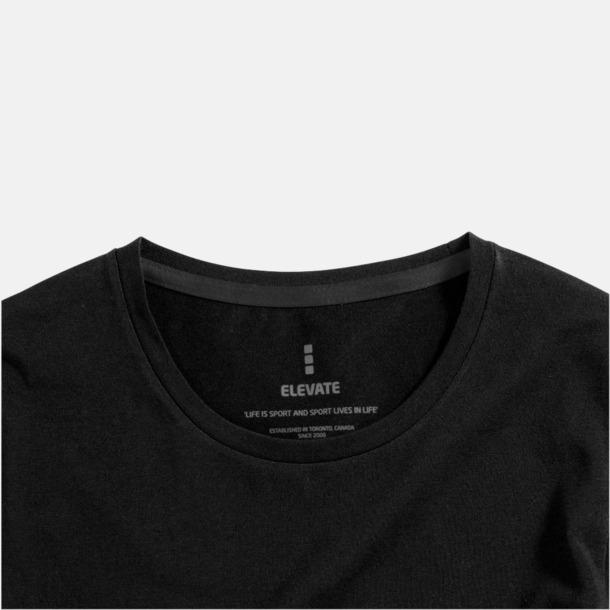 Eko långärmade t-shirts med reklamtryck