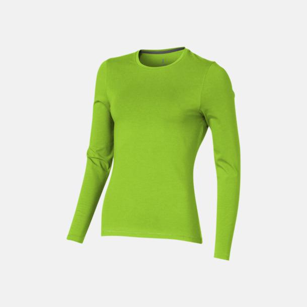 Apple (dam) Eko långärmade t-shirts med reklamtryck