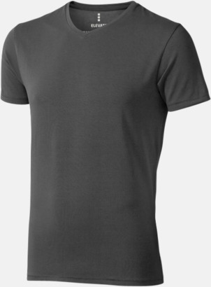 Anthracite (herr) Vuxen t-shirts i eko-bomull med reklamtryck