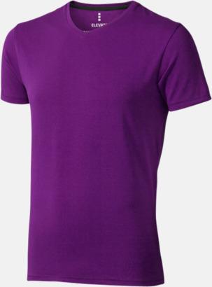 Plum (herr) Vuxen t-shirts i eko-bomull med reklamtryck