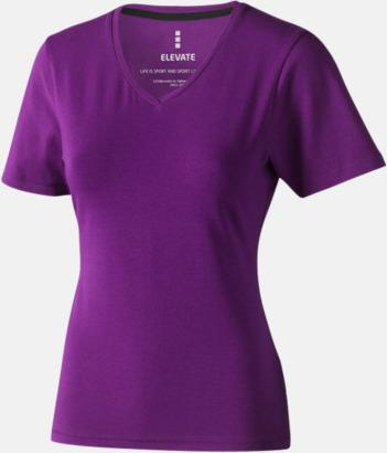 Plum (dam) Vuxen t-shirts i eko-bomull med reklamtryck
