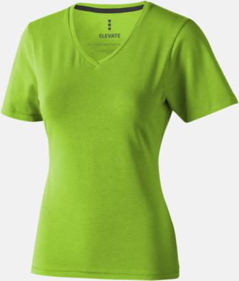 Apple (dam) Vuxen t-shirts i eko-bomull med reklamtryck