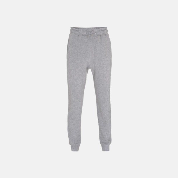 Melange Grey Ekologiska Sweatpants med eget reklamtryck