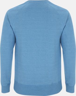 Sweatshirt av återvunnet material med eget reklamtryck