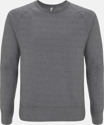 Mélange Heater Sweatshirt av återvunnet material med eget reklamtryck