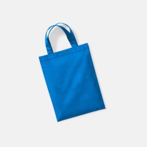 Små presentpåsar i bomull med reklamtryck