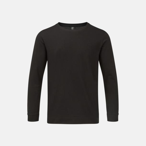 Svart Tunna unisex tröjor med reklamtryck