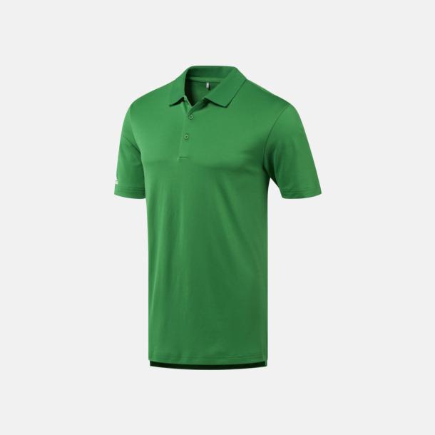 Grön Funktionspikéer från Adidas med reklamtryck