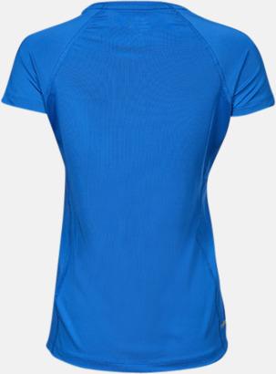 Baksida (dam) Funktions t-shirts i herr- & dammodell med reklamtryck