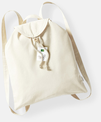 Organiska ryggsäckar med tryck