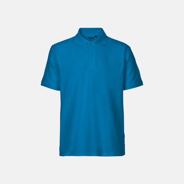 Sapphire (herr) Fairtrademärkta pikétröjor i herr- och dammodeller med brodyr