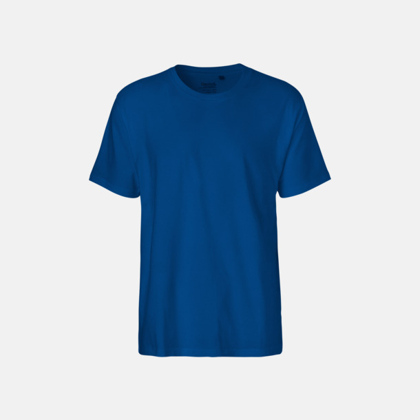 Royal (herr) Klassiska t-shirts i ekologisk fairtrade-bomull med tryck