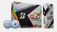 Snabbare golfbollar från Bridgestone med reklamtryck