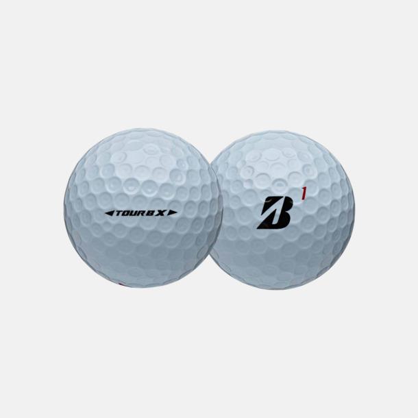 Vit Proffsiga golfbollar med reklamtryck