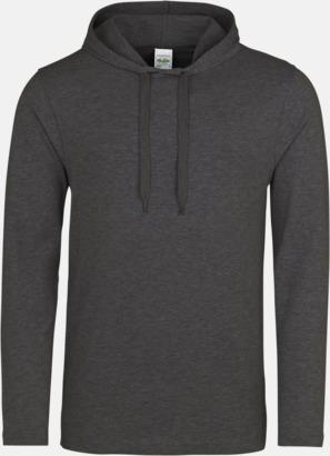 Charcoal (heather) Huvtröjor i t-shirt design med reklamtryck