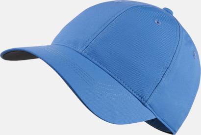 Valor Blue Fina kepsar från Nike med reklamlogo