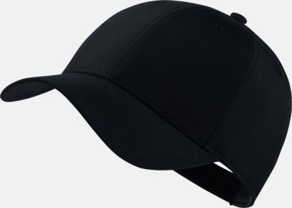 Svart/Anthracite/Vit Tech caps från Nike med reklamlogo