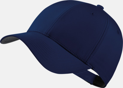 College Navy/Anthracite/Vit Tech caps från Nike med reklamlogo