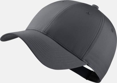 Mörkgrå/Anthracite/Svart Tech caps från Nike med reklamlogo