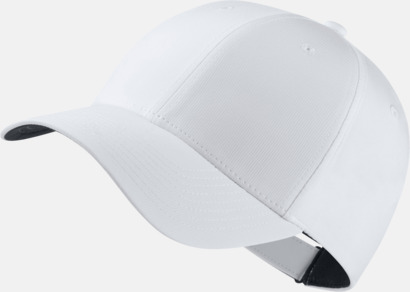 Vit/Anthracite/Svart Tech caps från Nike med reklamlogo
