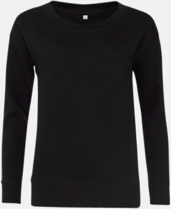 Jet Black Fina & billiga damtröjor med reklamtryck