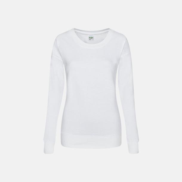 Arctic White Fina & billiga damtröjor med reklamtryck