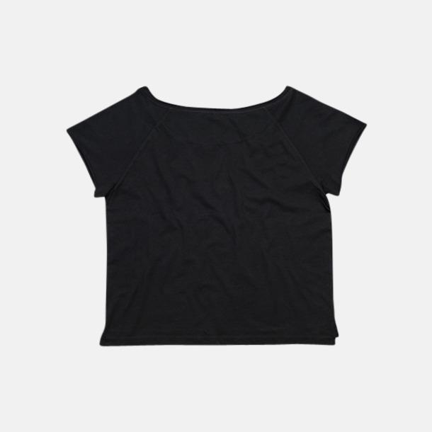 Klippta eko t-shirts med reklamtryck