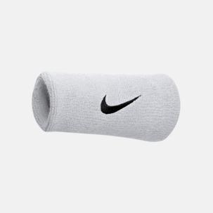 Extra breda armsvettband från Nike med reklamlogo