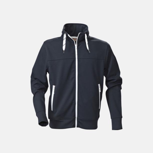 Marinblå (herr) Sporttröjor med reklamtryck