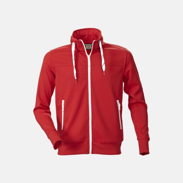 Röd (herr) Sporttröjor med reklamtryck
