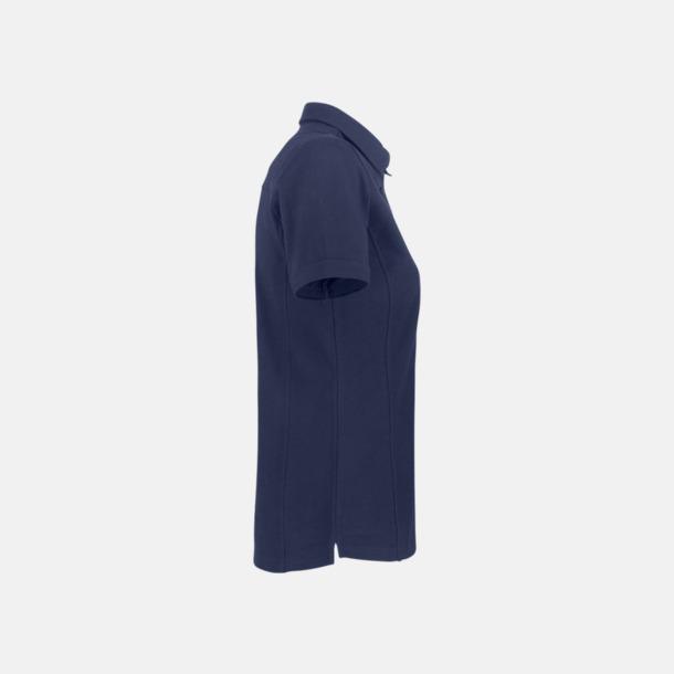 Premium dam pikétröjor från James Harvest med reklamtryck