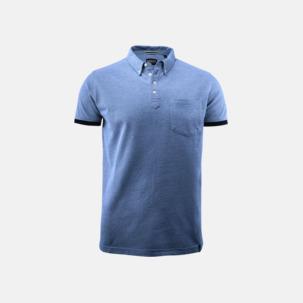 Premium pikétröjor från James Harvest med reklamtryck