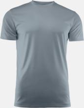 Kvalitets funktions t-shirts med reklamtryck
