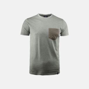Fickförsedda unisex t-shirts med reklamtryck