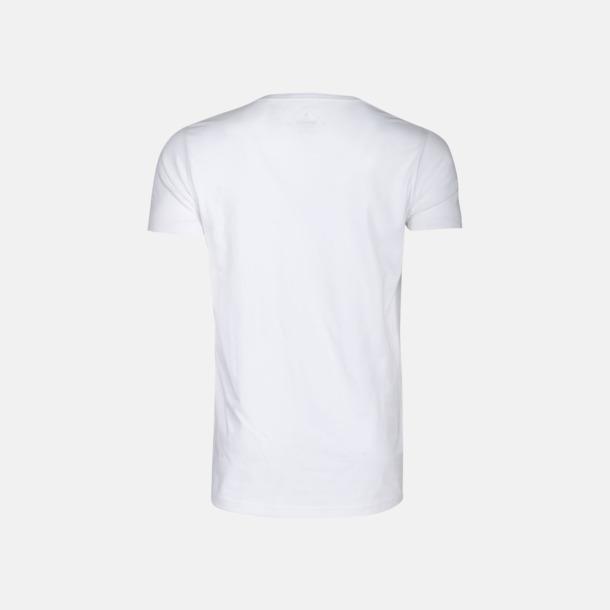 Kvalitets t-shirts i bomull med reklamtryck
