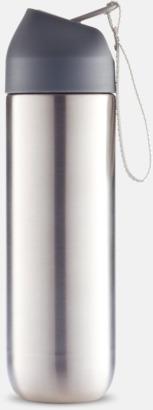 Vattenflaskor i metall med reklamtryck