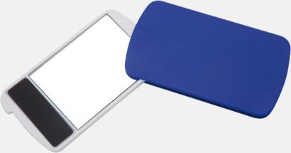 Blå Fickspegel med nagelfil - med reklamtryck