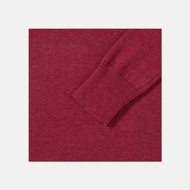 Stickade pullovers i herr- och dammodell med reklamlogo