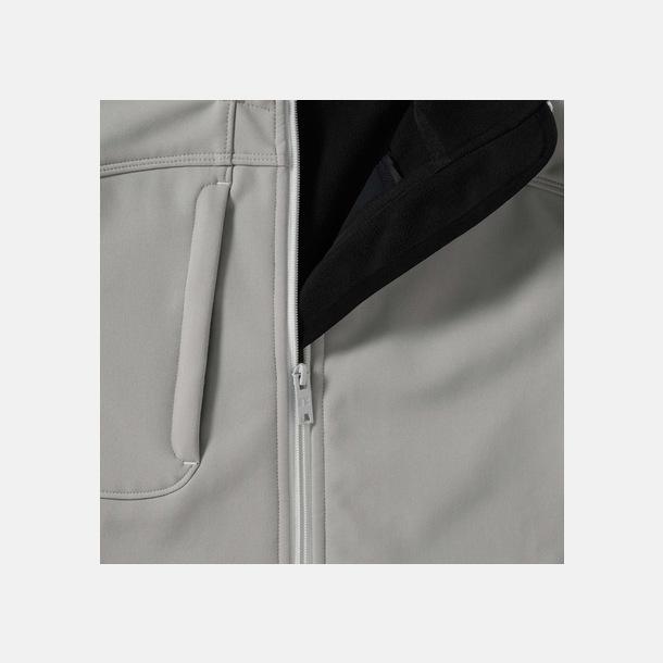 Softshell-jackor med eko finish med reklamtryck