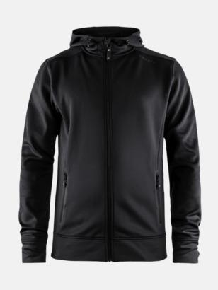 Svart (hoodie, man) Jackor från Craft med eget reklamtryck