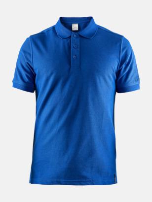 Sweden Blue (Herr) Craft pikétröjor med eget reklamtryck