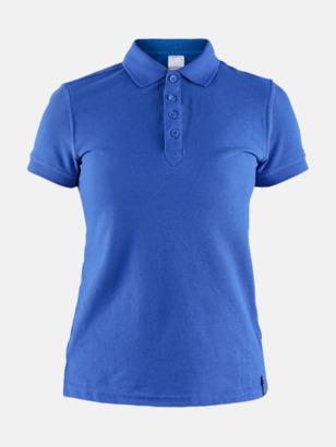 Sweden Blue (Dam) Craft pikétröjor med eget reklamtryck