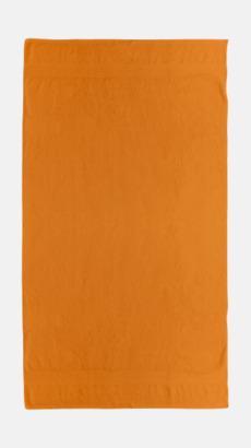 Bright Orange Billiga handdukar med egen logga