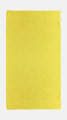 Bright Gul Billiga handdukar med egen logga