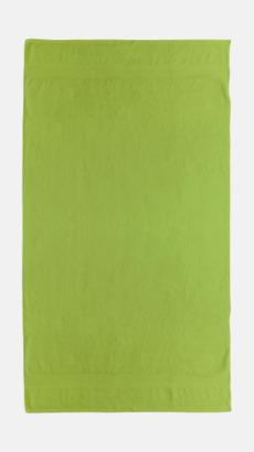 Bright grön Billiga handdukar med egen logga
