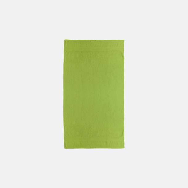 Bright Green Billiga handdukar med egen logga