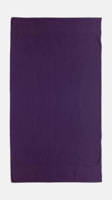 Aubergine Billiga handdukar med egen logga