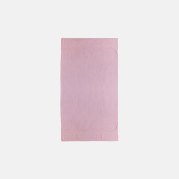 Rosa Billiga handdukar med egen logga