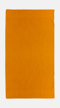 Orange Billiga handdukar med egen logga