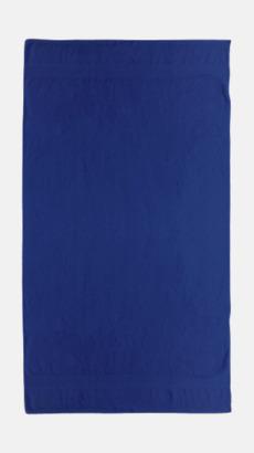 Navy Billiga handdukar med egen logga
